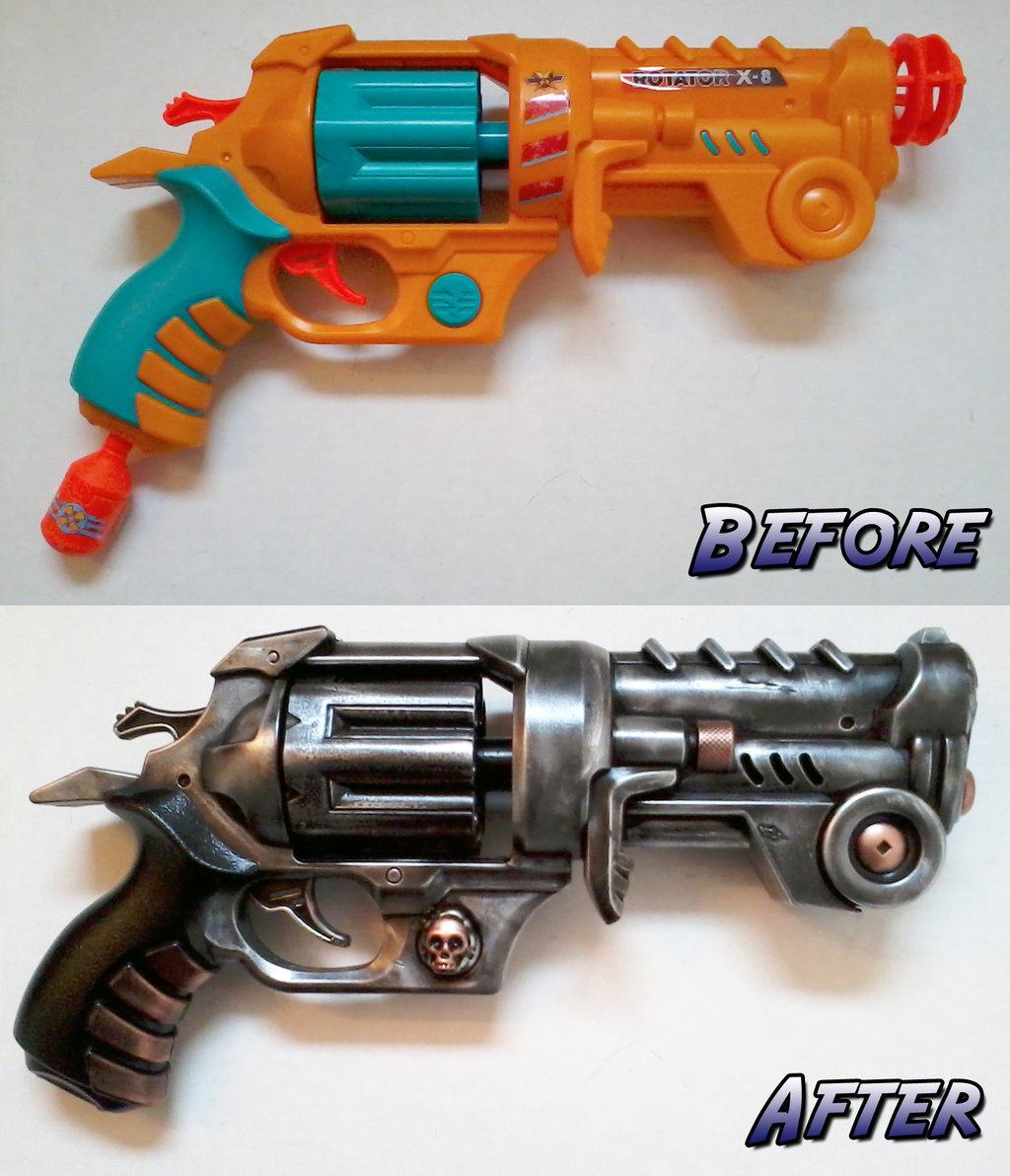 Getting NERFed: examples of toy guns turned into cool LARP ...